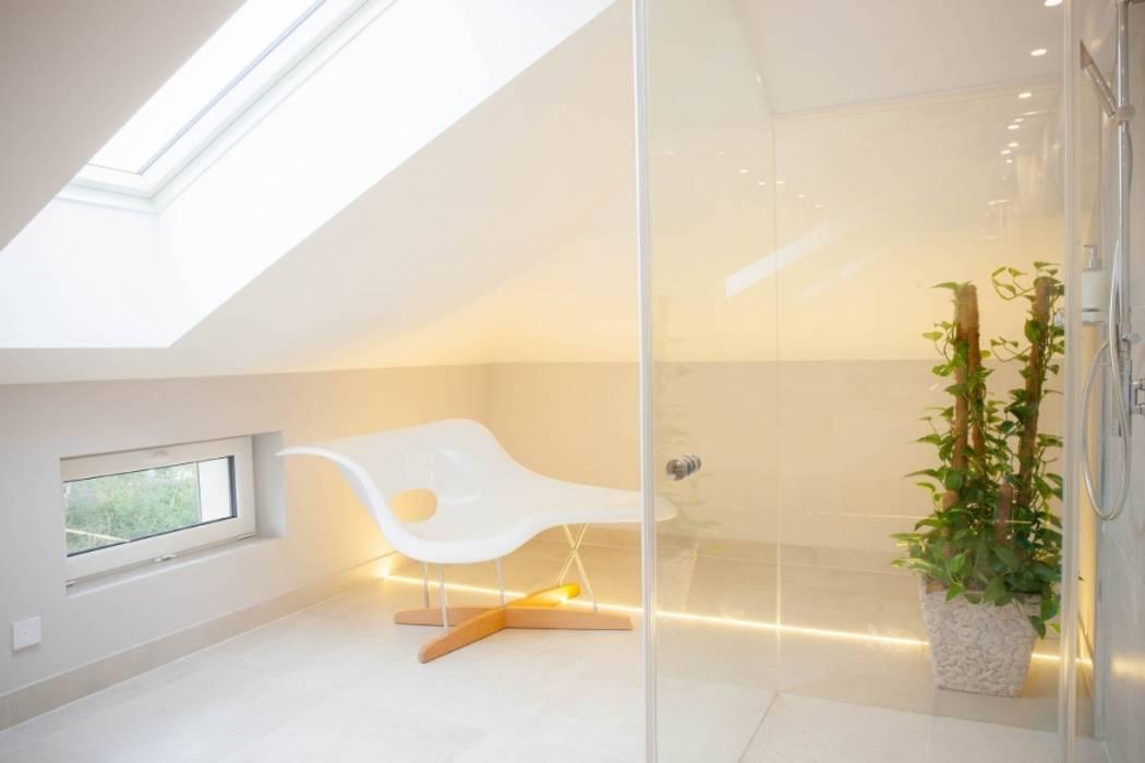 Scandinavian style bathroom by Projekt Kolektyw Sp. z o.o. Scandinavian Tiles