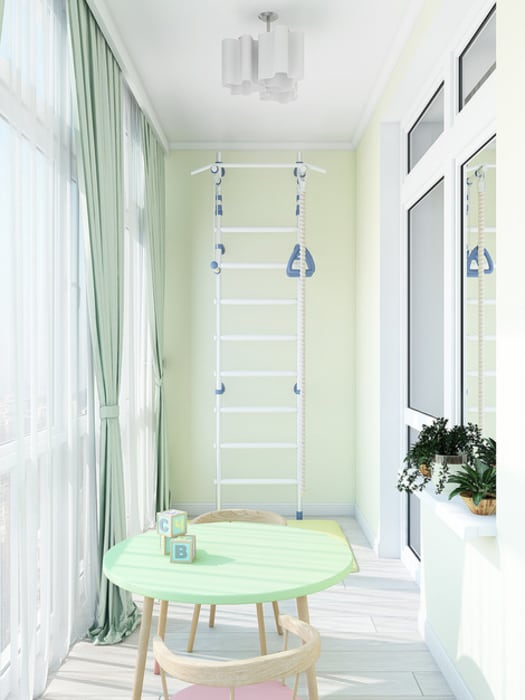 Terrasse de style  par Tatiana Zaitseva Design Studio, Classique