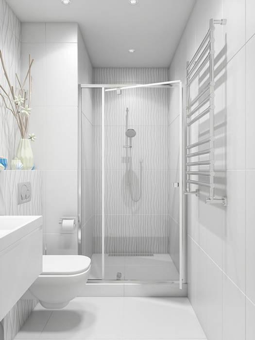 Baños de estilo  de Tatiana Zaitseva Design Studio, Clásico