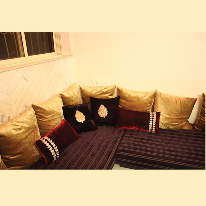 Living Room Asian style living room by Neha Changwani Asian