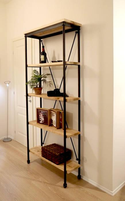 Scaffale Contesini Studio & Bottega Ingresso, Corridoio & ScaleCassettiere & Scaffali Legno massello Effetto legno