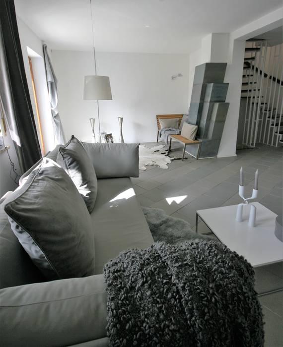 Wohnzimmer Lounge | Wohnzimmer Lounge In Grau Moderne Wohnzimmer Von Munchner Home
