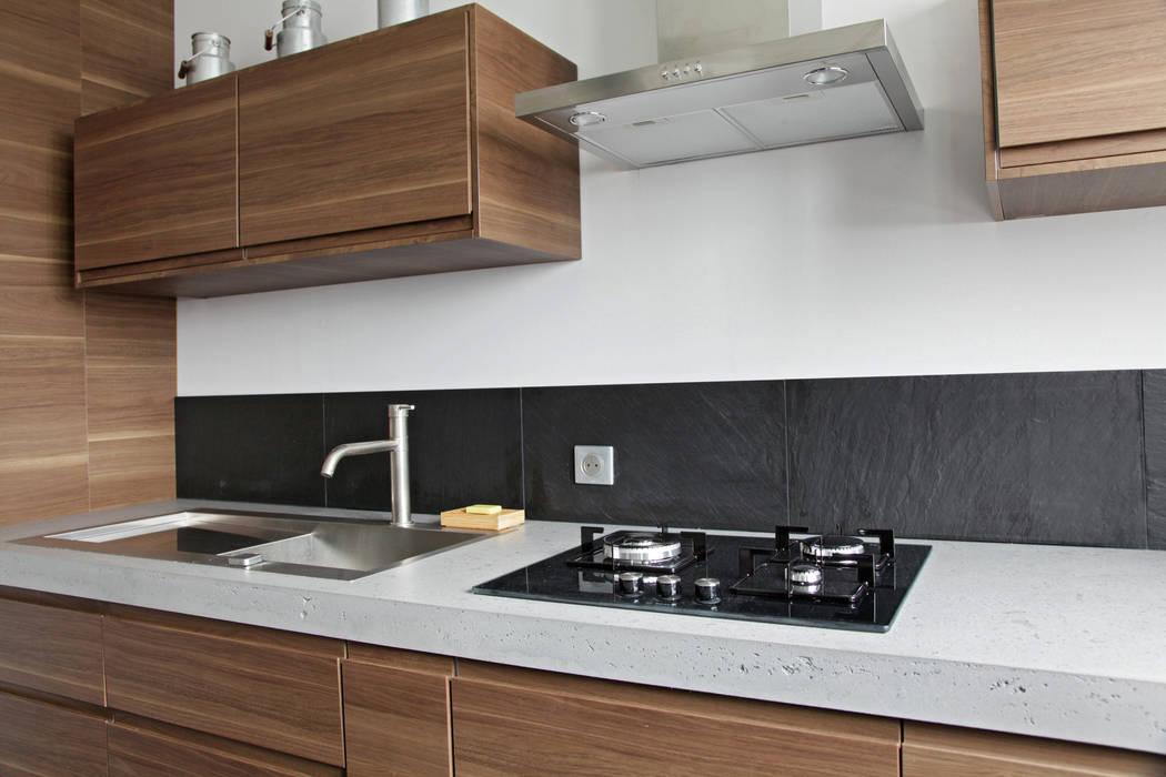 Rosny Cocinas de estilo moderno de Concrete LCDA Moderno Concreto