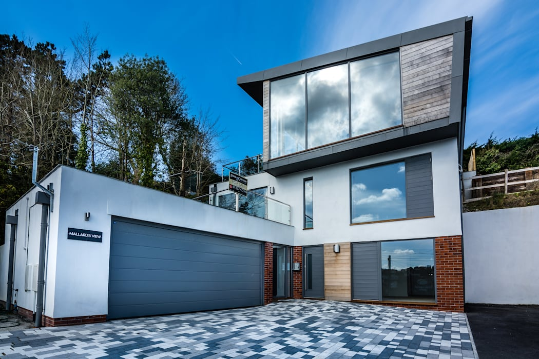 Mallards View, Devon by Trewin Design Architects Сучасний
