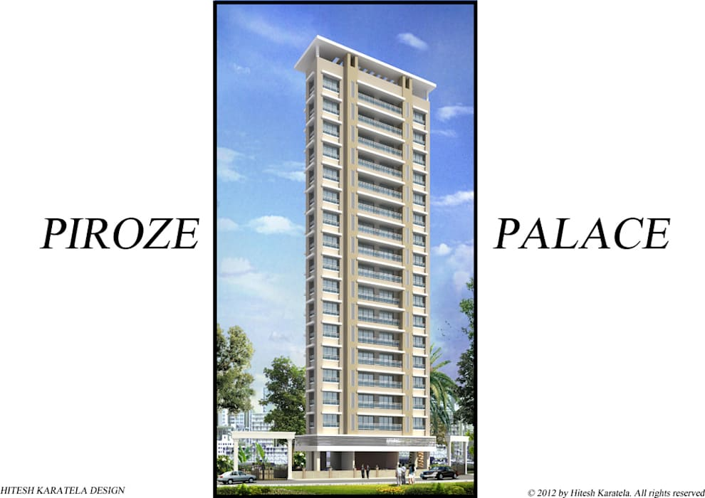 PIROZE PALACE SAMPLE FLAT:  Houses by HK ARCHITECTS,