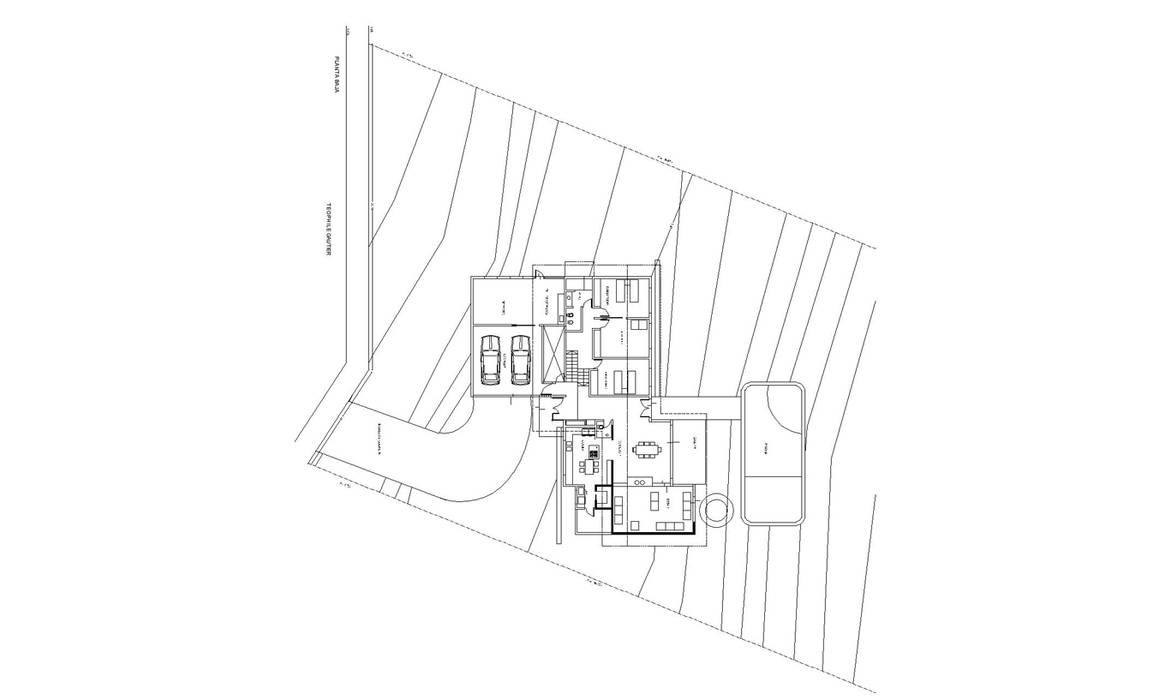 Casa Lago de renziravelo Moderno