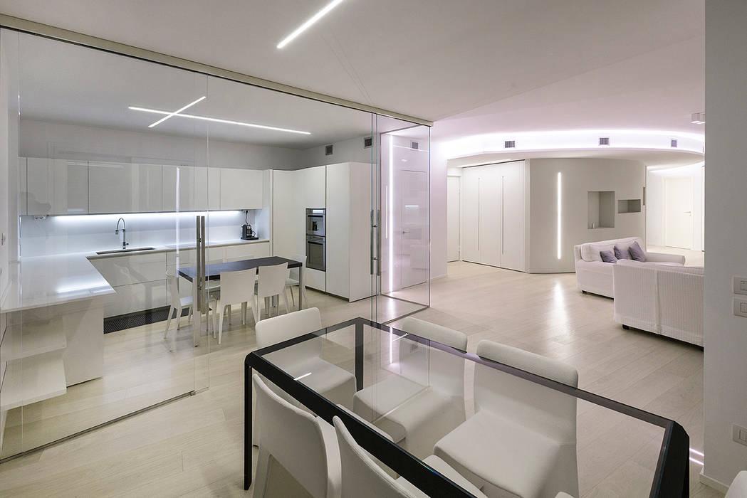 Attico Villa Lieta Cucina In Stile Di Rwaarchitetti Homify