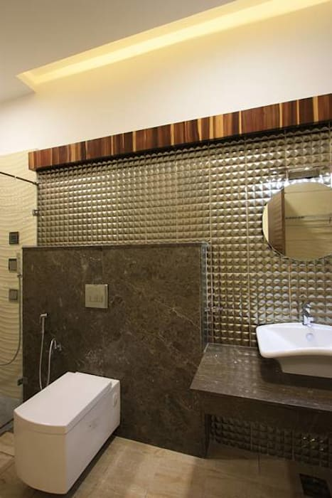 Bathroom:  Bedroom by Ansari Architects
