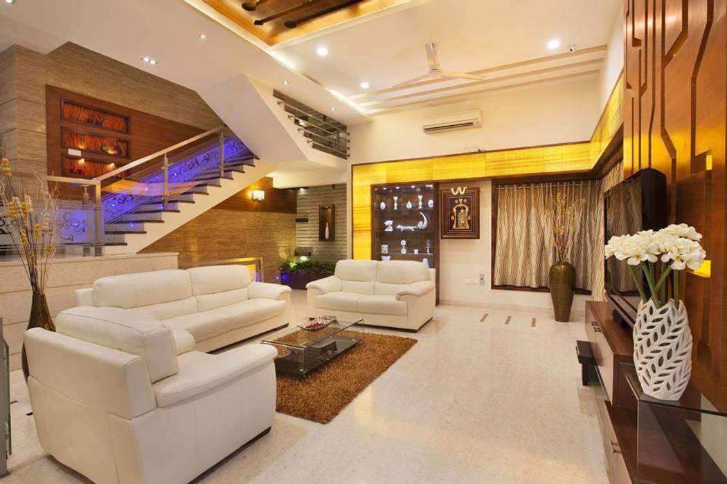 Living room Modern living room by Ansari Architects Modern