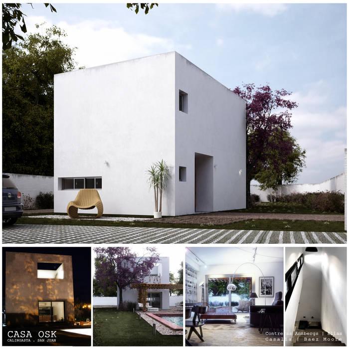 Casa OSK: Casas de estilo moderno por EN arquitectura