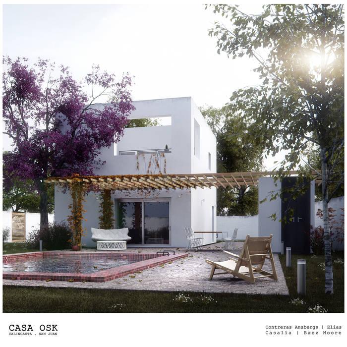 Casa OSK Casas modernas: Ideas, imágenes y decoración de EN arquitectura Moderno Ladrillos