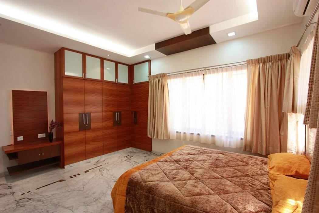 Bedroom:  Bedroom by Ansari Architects