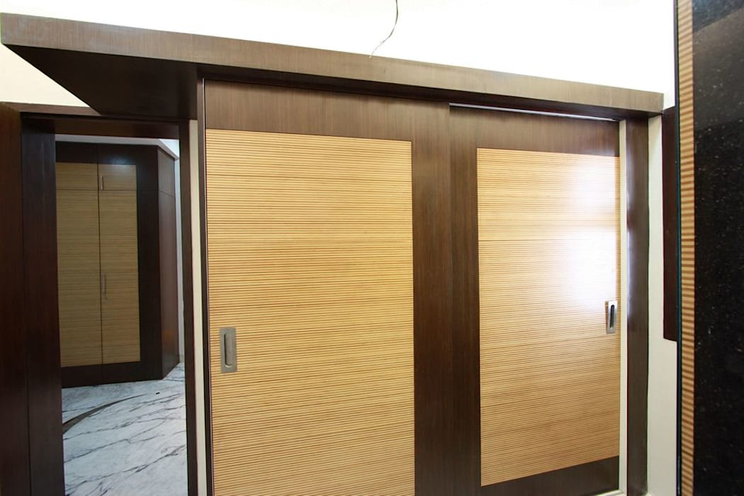 Wardrobe Modern style bedroom by Ansari Architects Modern