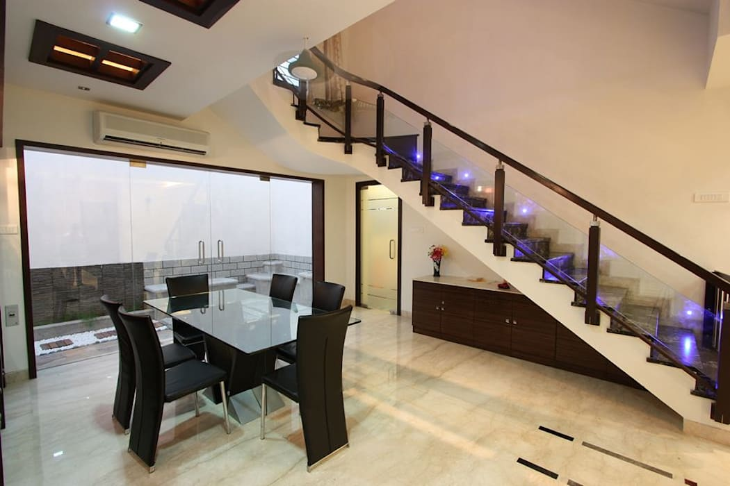 Dining :  Dining room by Ansari Architects