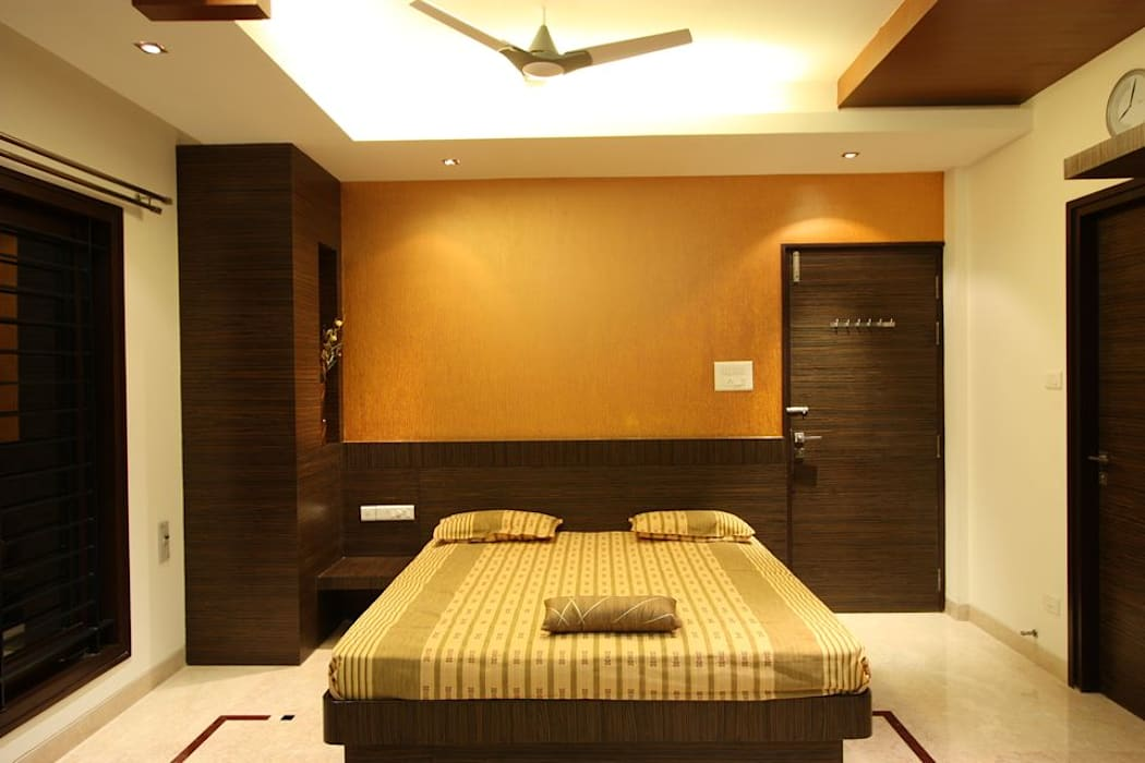 ​Bedroom: modern Bedroom by Ansari Architects