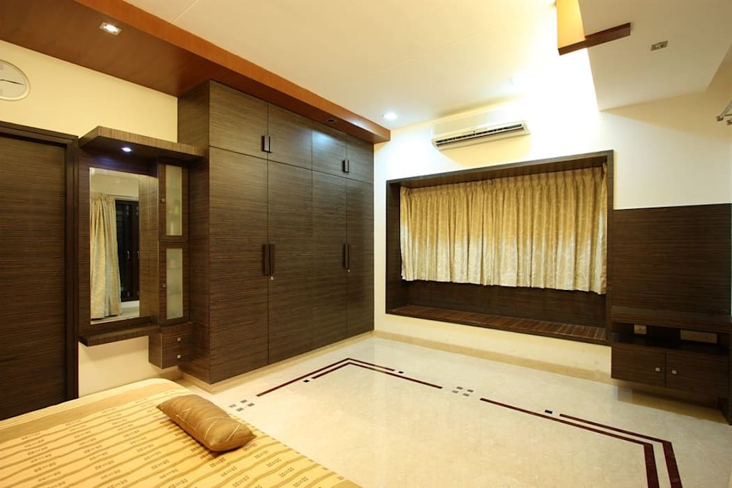 ​Bedroom Modern style bedroom by Ansari Architects Modern