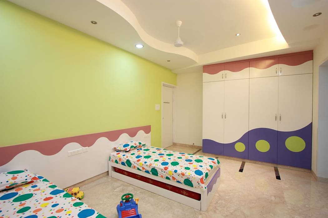 kids Bedroom Modern style bedroom by Ansari Architects Modern