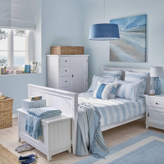 Dormitorio Harbour Dormitorios de estilo mediterráneo de Laura Ashley Decoración Mediterráneo