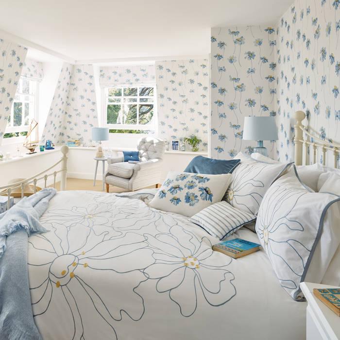 Mediterranean style bedroom by Laura Ashley Decoración Mediterranean
