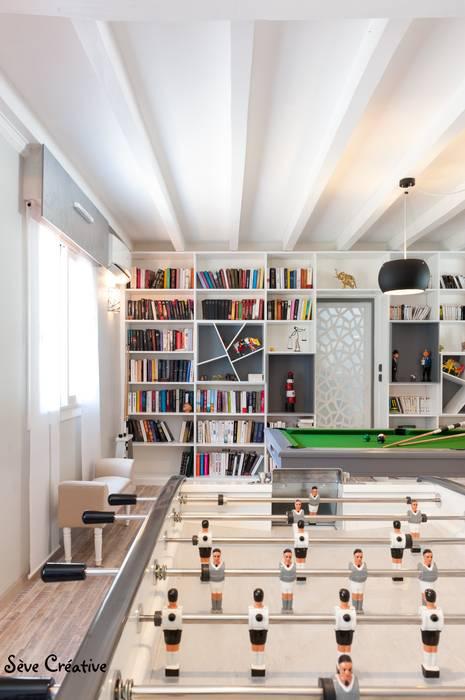 Agence boÔbo Modern living room White