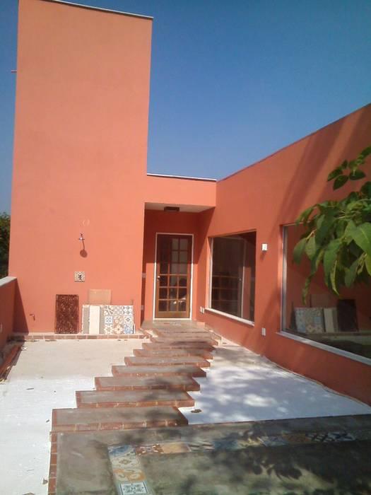 Terraço Margareth Salles Casas modernas