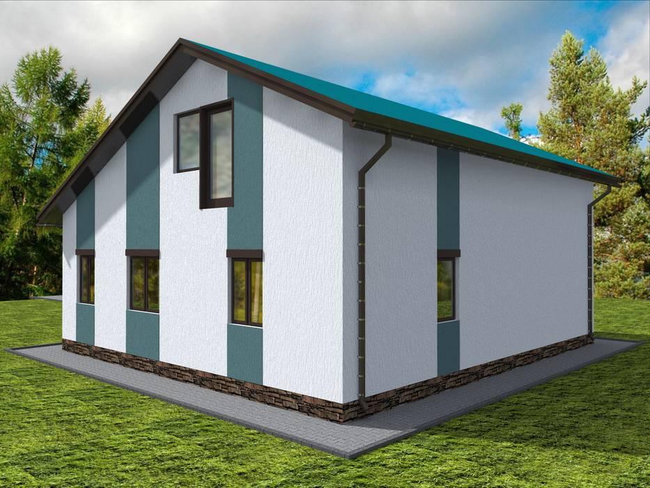 Houses by Студия архитектуры и дизайна Вояджи Дарьи, Modern