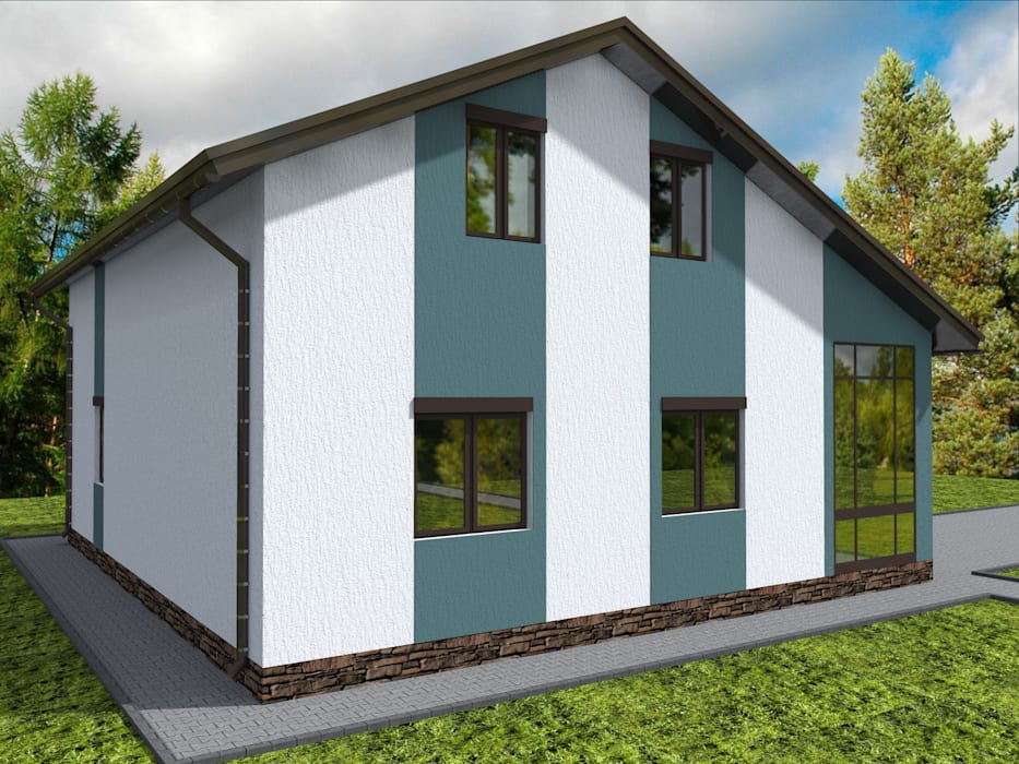 Modern houses by Студия архитектуры и дизайна Вояджи Дарьи Modern
