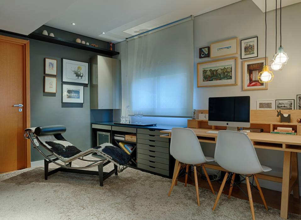 Apartamento FM CoGa Arquitetura Escritórios modernos