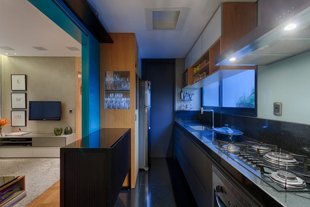 CoGa Arquitetura Dapur Modern