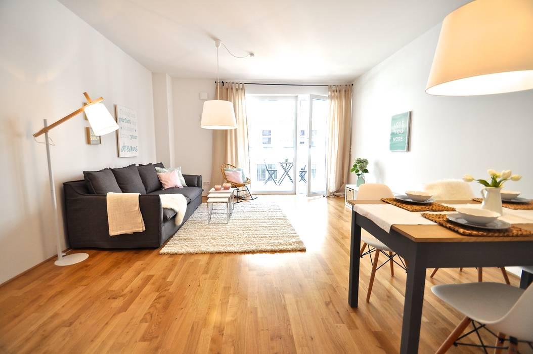 Salas de estilo moderno de Karin Armbrust - Home Staging Moderno