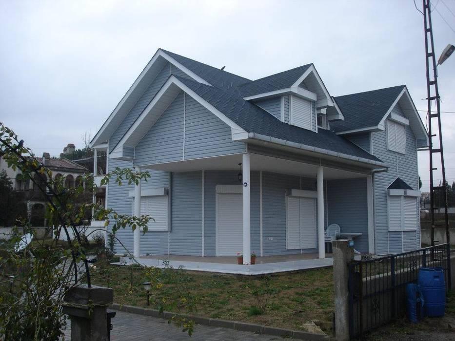 Konutlar Casas estilo moderno: ideas, arquitectura e imágenes de Murat Kaya Mimarlik Ltd. Sti. Moderno