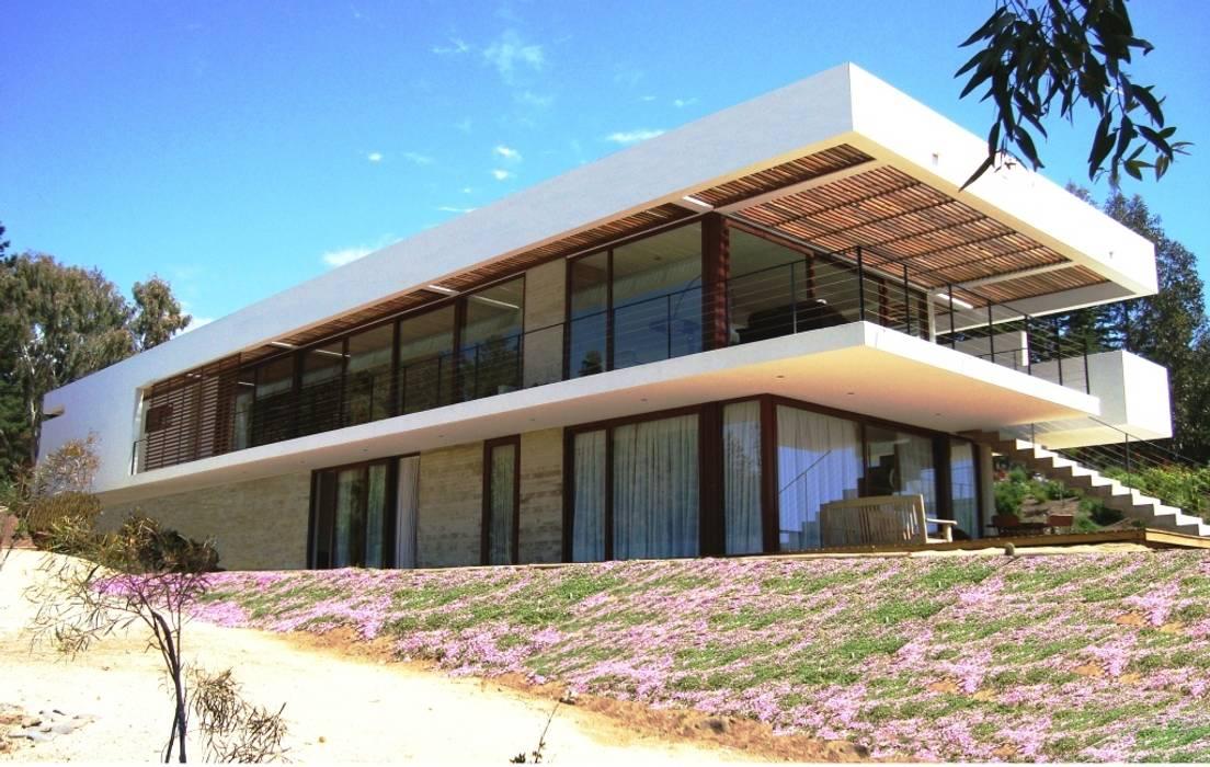 Casa Valdés: Casas de estilo  por G4 Arquitectos Asociados