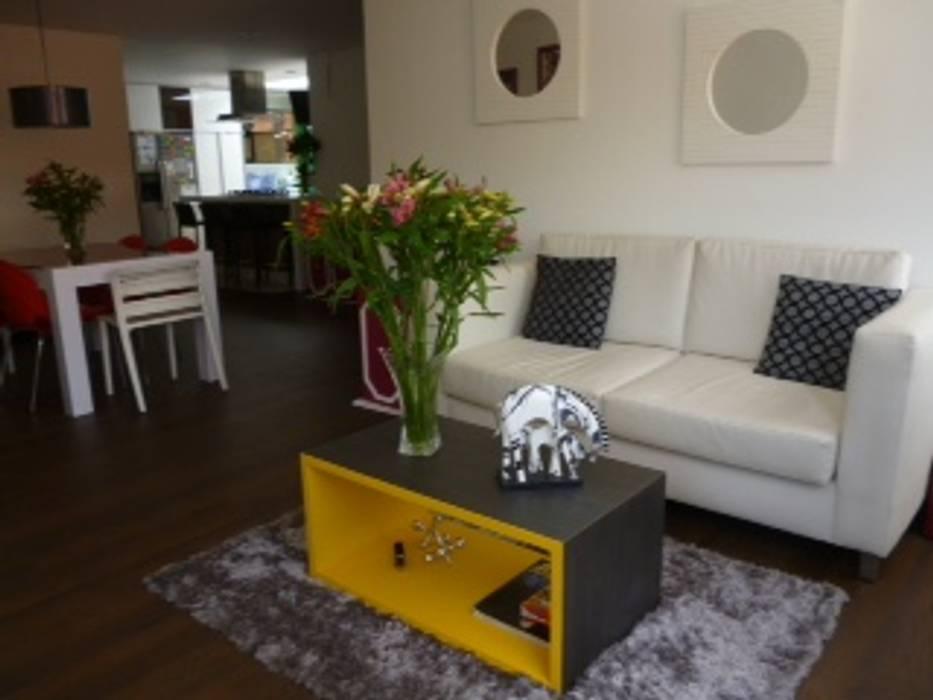 Proyecto mobiliario hogar apartamento salas de estilo for Mobiliario para hogar