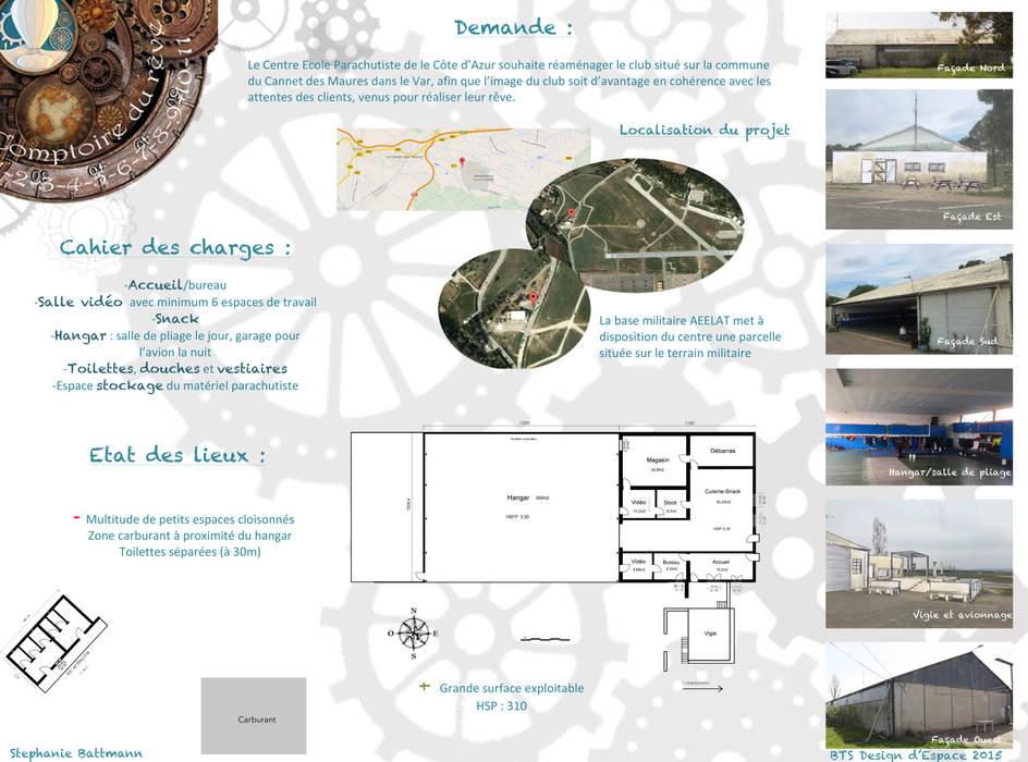 Comptoir du rêve. 1: Garage / Hangar de style de style eclectique par Sb Design Concept