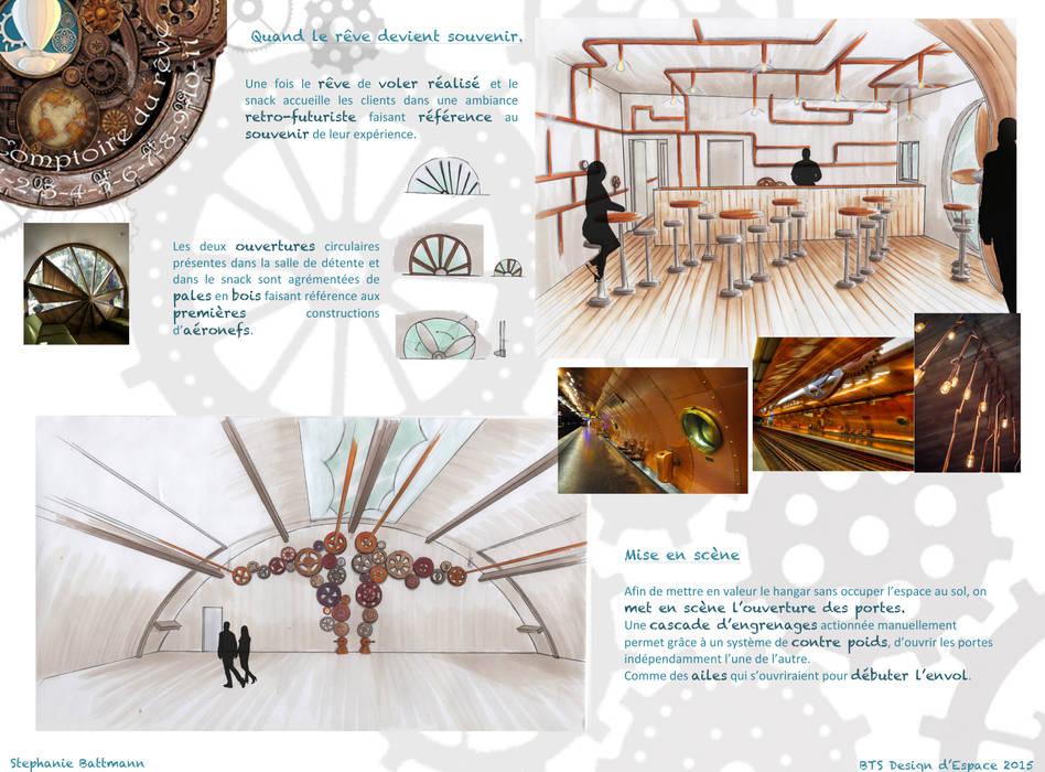 Comptoir du rêve. 11: Garage / Hangar de style de style eclectique par Sb Design Concept
