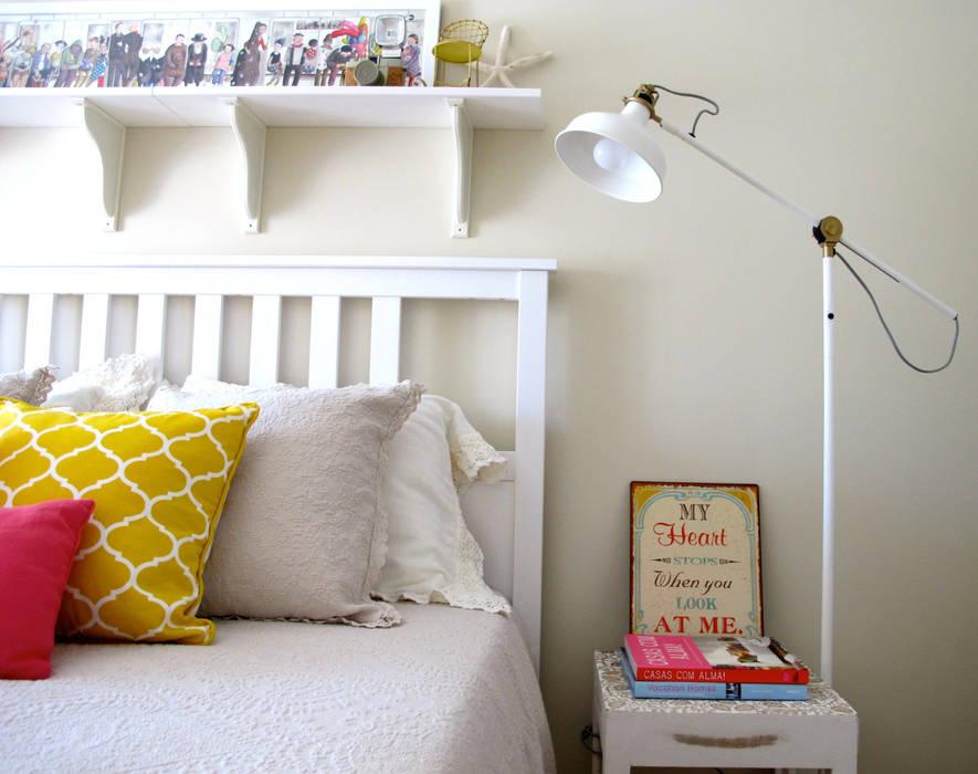 Quarto : Quartos  por Rafaela Fraga Brás Design de Interiores & Homestyling