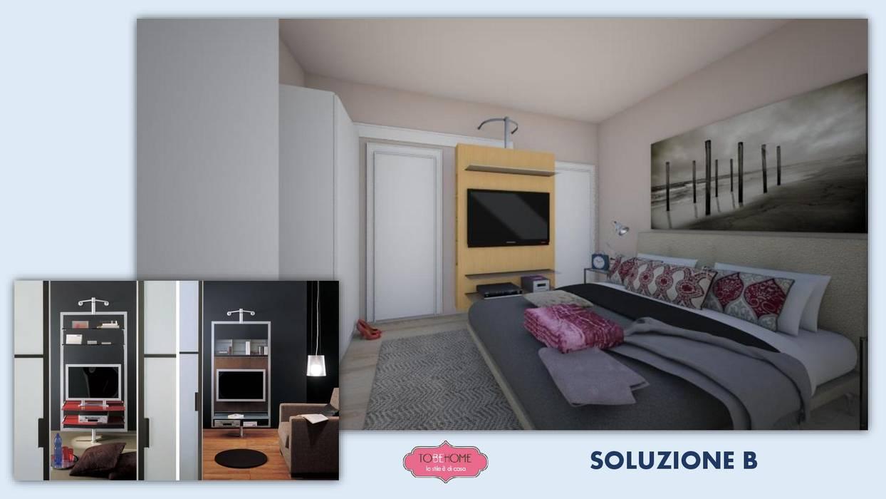 Tre soluzioni per la tv camera da letto moderna di tobehome ...