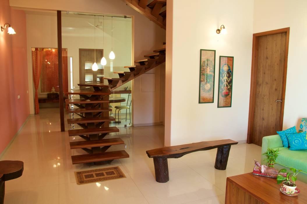 Design Kkarma (India) Couloir, entrée, escaliers originaux