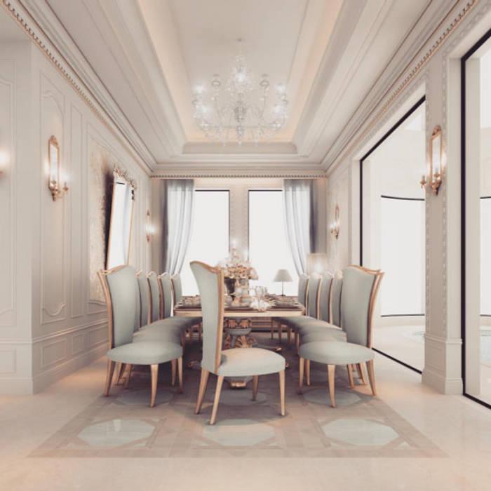 Interior Design & Architecture by IONS DESIGN Dubai,UAE IONS DESIGN Classic style dining room
