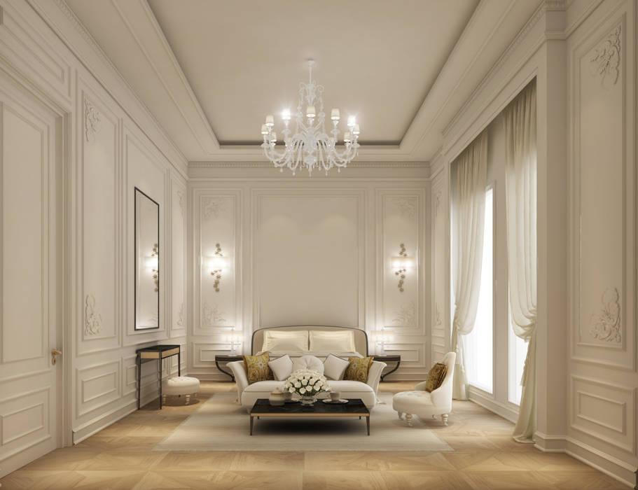 Interior Design & Architecture by IONS DESIGN Dubai,UAE IONS DESIGN ห้องนอน
