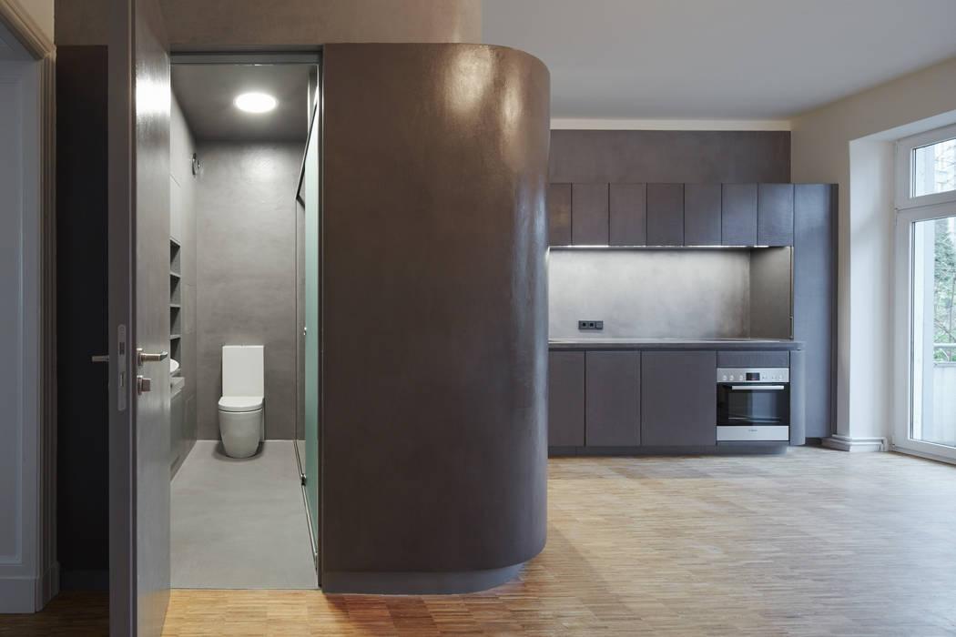 Beton cire küche moderne badezimmer von pa tischlerei gbr ...