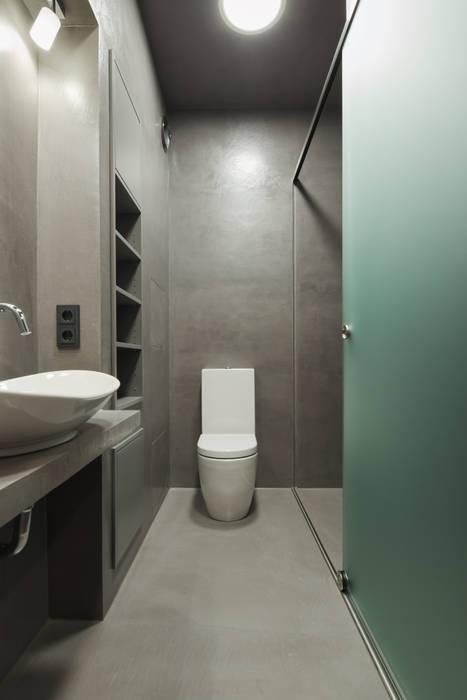 Beton cire küche: badezimmer von pa tischlerei gbr | homify
