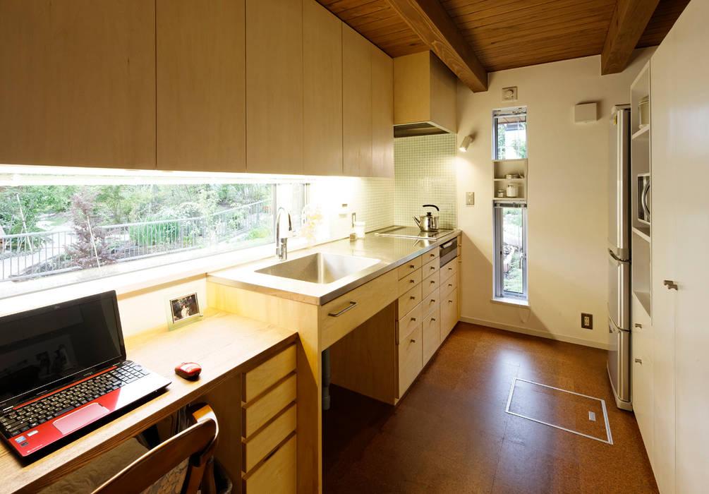 岩川アトリエ Nhà bếp phong cách hiện đại