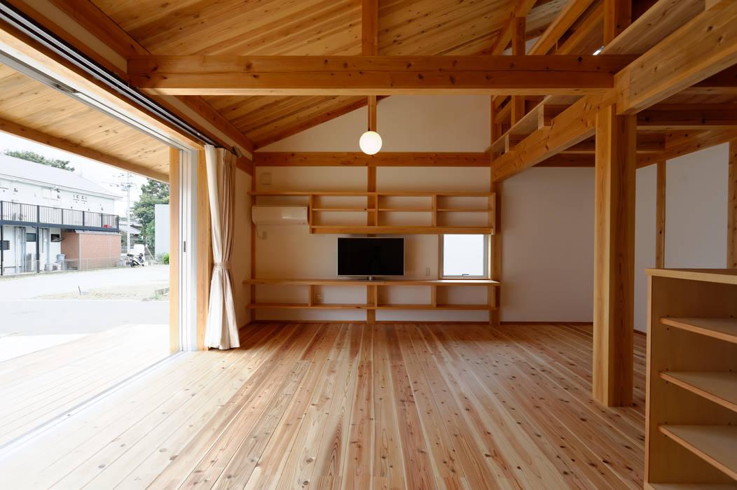 高野三上アーキテクツ一級建築設計事務所 TM Architects Living room