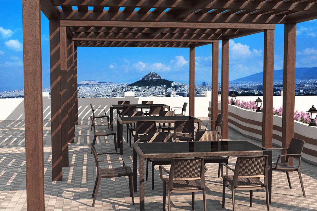 Cap Corse par Coffee Meuble: Jardin de style de style Moderne par Coffee Meuble