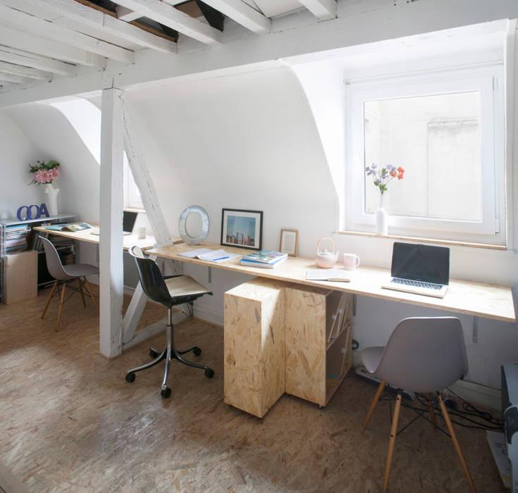 Mes bureaux : Bureaux de style  par Olivier Olindo Architecte