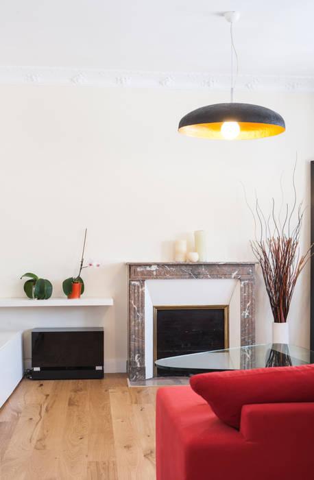 détail salon: Salon de style de style Classique par Olivier Olindo Architecte