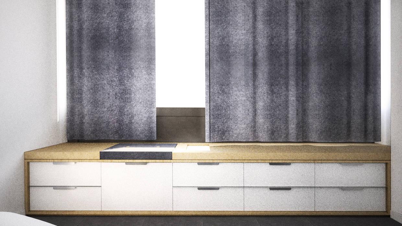 Belle Ville Atelier d'Architecture Scandinavian style office buildings Wood Grey