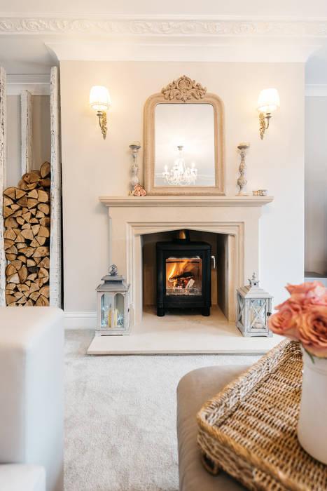 French shabby chic living room moderne wohnzimmer von katie ...