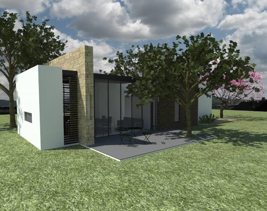 Casas de estilo  de MODOS Arquitectura, Moderno